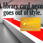 National Library Card Sign-Up Month coincided with NYC's Fashion Week, which inspired this graphic, which, of course, went viral. How could it not?