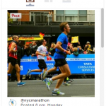 I advise on social media integration in the New York Road Runners (NYRR) and New York City Marathon websites, emails, apps, races, and events.
