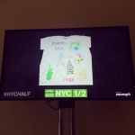 The New York City Half Marathon and New York City Marathon both had social media feeds on display at the expos and on jumbotrons along the race courses. I oversaw the design, development, and curation of the content of these social media event displays.