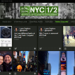 This interactive social hub displays the best tweets and Instagrams from the 2014 NYC Half Marathon race week and race day. I oversaw the design, development, curation of content, and marketing of the hub.