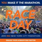 "The ""You Make It the Marathon"" campaign came to life with 50,000 runners, 2 million spectators, and hundreds of thousands of TV viewers using the hashtag #INGNYCM to share marathon stories and moments, totaling to 450+ million social impressions on Instagram and Twitter during race week."